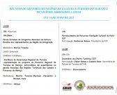 Reunião de Gestores Municipais de Cultura e Turismo do Marajó e Municípios Associados a  AMAM